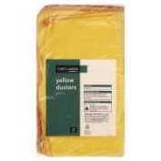 Chef's Larder Yellow Dusters 10 Pack 50cm x 45cm