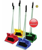 Ramon Lobby Long Handle Dustpan And Brush Set Yellow