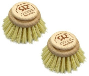 Replacement Brush Head For Large Natural Bristle Dish Washing Brush - Stiff Plant Fibre