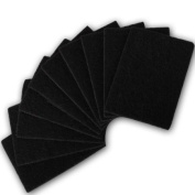 10 Pack Of Griddle Cleaner Scourer Pads For Heavy Duty Cleaning on Barbeques / BBQ, Ovens, Grills.