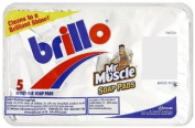 Brillo Pads 5's (Pack of 24)
