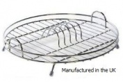 Stainless Steel Circular Dish Drainer