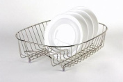 Delfinware Stainless Steel Oval Plate Sink Basket