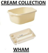 NEW CALICO/CREAM COLLECTION RECTANGULAR BOWL /DRAINER/ MADE IN UK