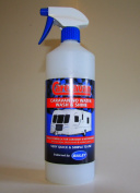 Care-avan 1 ltr Caravan Waterless Cleaner Polish Endored by Bailey.