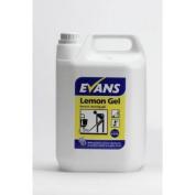Evans Lemon Gel - Neutral Cleaning Gel - 5ltr