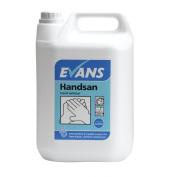 Evans Vanodine Handsan Alcohol Hand Sanitiser 5ltr