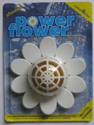 Power-Flower Shower Drain Cleaner & Freshener with Refill pack