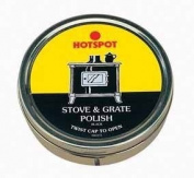Manor Stove & Grate Polish Black 170g TIN