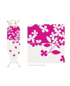 Home & Garden Direct Minky Stowaway Folding Ironing Board Cover Assorted Designs 122cm x 38cm
