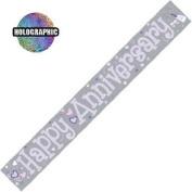 Party Celebration Banner - Happy Anniversary Wedding Anniversary
