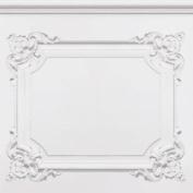 White / Grey - J36509 - Louis XV - Wood Panelling - Muriva Wallpaper