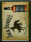 JACK DANIEL'S COWBOY Small Nostalgic Vintage Metal Tin Pub Sign