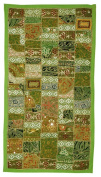 Indian Wall Decor Wall Hanging With Embroidery, Zari, Sequins & Patchwork Tapestry Vintage Art