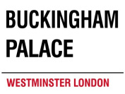 MIN90542 LONDON STREET SIGN - BUCKINGHAM PALACE METAL ADVERTISING WALL SIGNS