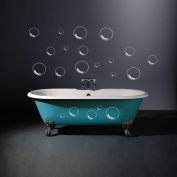 Vinylworld Bubbles outline wall / tile decal stickers x21
