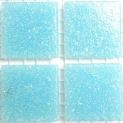 Vitreous Glass Mosaic Tiles 20mm Aqua