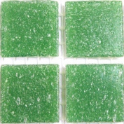 Vitreous Glass Mosaic Tiles 20mm Leaf Green