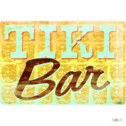 M.A. Allen Retro Tin Sign U.S. Strad Deco Tiki Bar 20x30 cm Large Metal Wall Decoration Vintage Retro Classic Plaque