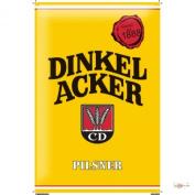 Tin Sign Dinkelbräu 1888 Dinkelacker Pilsener lager beer Stout light wheat beer Old advertising in yellow 20x30 cm