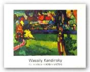 Murnau 1909 by Wassily Kandinsky Art Print Poster