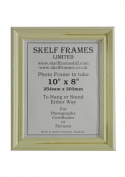 WHITE DISTRESSED WOOD SHABBY CHIC PICTURE PHOTO FRAME