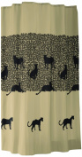 Sealskin Cheetah 232181365 Shower Curtain 180 x 200 cm