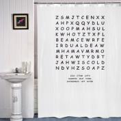 IGGI Word Search Shower Curtain