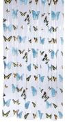 Sealskin Butterfly 210571302 Shower Curtain 180 x 200 cm
