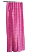 High Quality New Hot Pink Beautiful Shower Curtain
