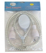 Bagno Tap Fitting Bath Adaptor Shower Hose Spray 1.8M hose