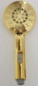 Gold design - Water-saving shower head - heavy quality