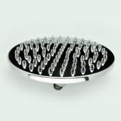 20cm . Polished Chrome Round 52 Nozzles Rain Shower Head ABS Plastic