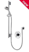 Aqualisa Aspire DL Concealed ASP001CA Thermostatic Mixer Shower with 105mm Harmony Head New Valve Complete Kit Chrome