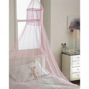 Popsicle PINK Voile Bed Canopie-
