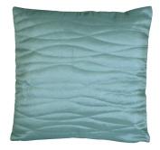 Charlotte Thomas Reversible Taffeta Duck Egg Bed Cushion Cover, 40cm x 40cm