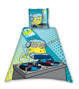 Sponge Bob Dj Single Duvet Set Panel Print