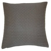 Lucian Modern Textured Squares Design Scatter Cushion Cover 43cm x 43cm
