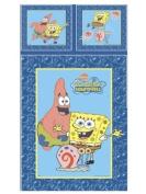 Sponge Bob Bubbles Single Duvet Set Panel Print