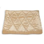 Diamante Sateen Velvet Bed Runner, Cream, 70 x 220 Cm