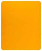 Bocasa by Biederlack 258313 Biederlackborbo De Luxe 50425 Blanket 180 x 220 cm Yellow 85 % Polyacrylic 15 % Polyester