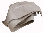 David Fussenegger Blanket Jade Fish Bone Ecru Organic 150x200cm GOTS certified 3478/80