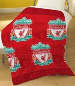 Zap Liverpool Multi Crest Fleece Blanket