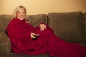 Red Snuggie Snuggle Blanket As Seen On Tv