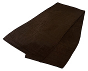 Charlotte Thomas Reversible Faux Suede Chocolate Bed Runner,50cm cm x 240 cm