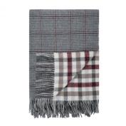 Johnstons of Elgin Lambswool Reversible Tweed Throw in Tay