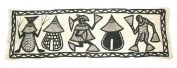African Cotton Senufo Wall Hanging / Throw / African Tribal Art #3