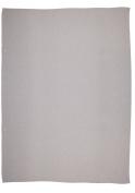 Ibena Imperial Plain Travellers Blanket, Silver, 150 x 200cm