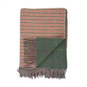 Johnstons of Elgin Lambswool Reversible Tweed Throw in Spey