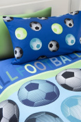 Catherine Lansfield Kids Football Single Quiltset, Blue